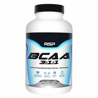 RSP Nutrition: BCAA 3:1:1 400 Caps 200 Servings