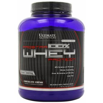 Ultimate Nutrition ProStar 100% Whey Protein 80 servings Chocolate Creme