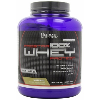 Ultimate Nutrition ProStar 100% Whey Protein 80 servings Natural