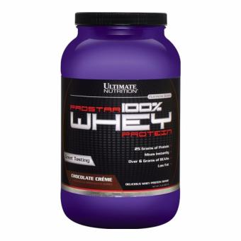 Ultimate Nutrition Prostar 100% Whey Protein Chocolate Creme 2 Lbs With Free Gift
