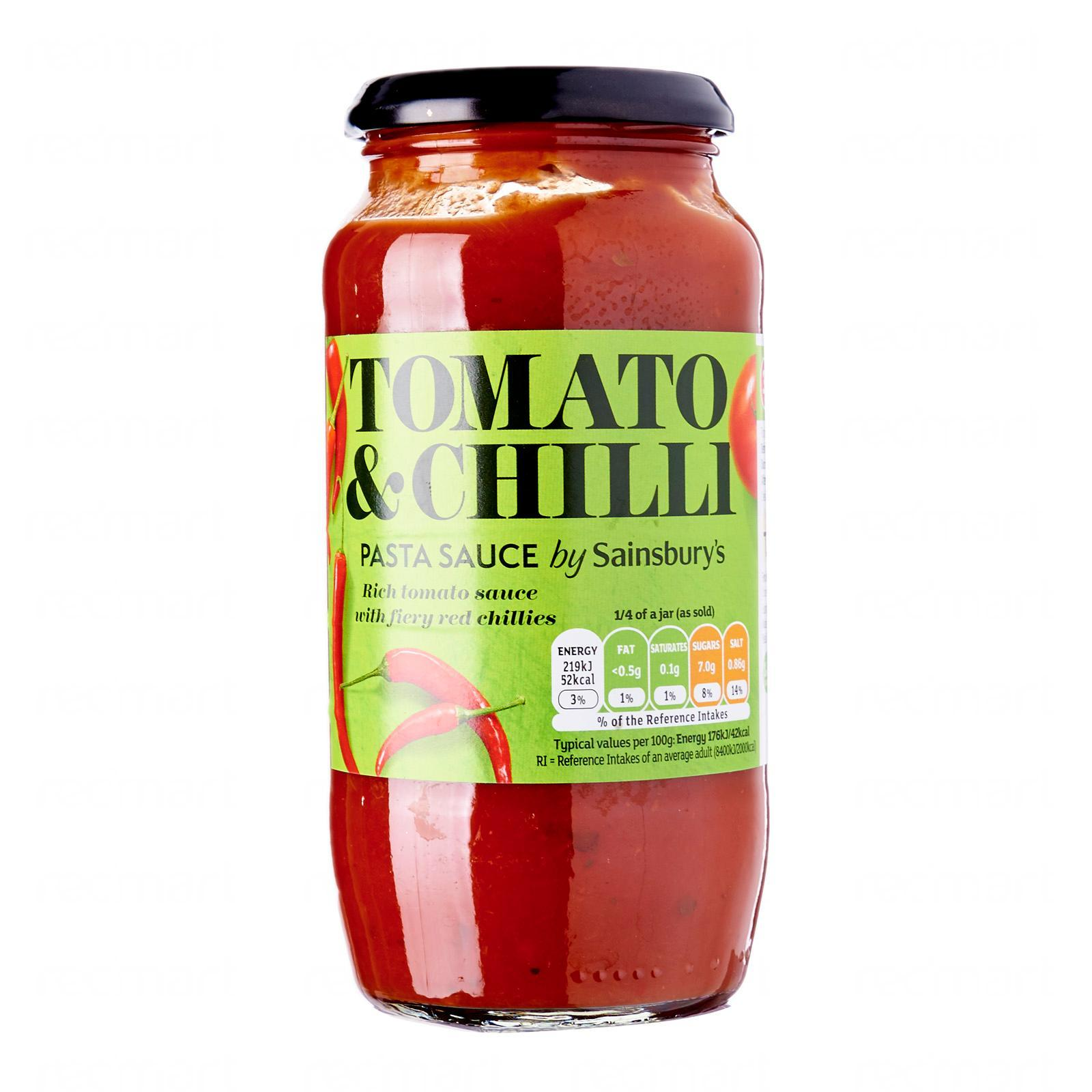 Sainsbury S Tomato And Chilli Pasta Sauce Lazada Singapore