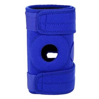 1 PCS Knee Brace Breathable Knee Guard Protector Adjustable Knee Support Brace Strap Open Patella Wrap
