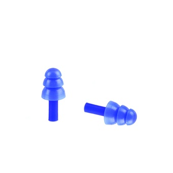2 Pair of Babies Kids Children Waterproof Swimming Bathing Silicone Earplugs Soft Ear Plug Blue -