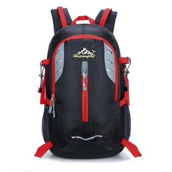 35L Hiking Backpack Large Capacity Lightweight Water Resistant Mountaineering Daypack - intl