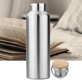 700ml Stainless Steel Sports Vacuum Insulated Water Bottle Travel - intl