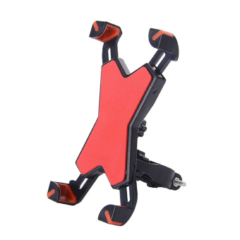 Bike Phone Mount Holder Bicycle Motorcycle Stand for Smartphone - intl