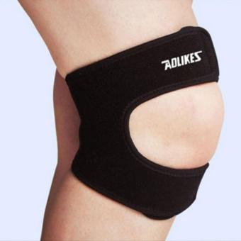 Elastic Brace Kneepad Adjustable Patella Knee Pads Knee Support Brace Safety Guard Strap For Basketball Free
