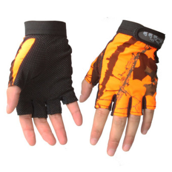 Harga Fingers outdoor three sunscreen fishing gloves