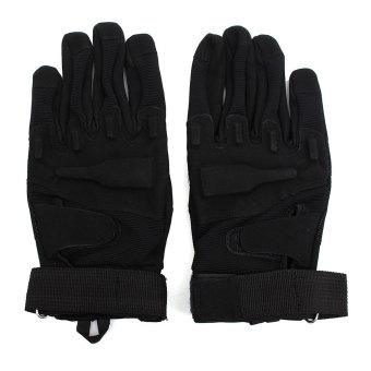 Harga Full Glove Military Tactical Army Black L