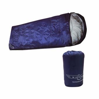 Harga Deluxe Sleeping Bag (Navy Blue)