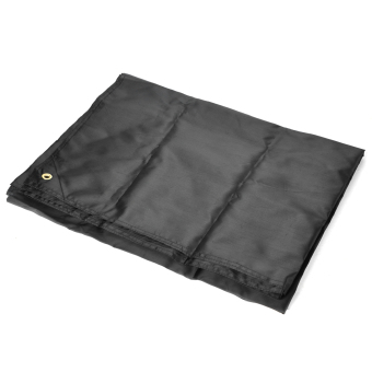 Harga HASKY Outdoor Camping Rainproof Nylon Groundsheet - Black - intl