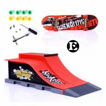 Harga 6 Types Skate Park Ramp Parts for Tech Deck Fingerboard Ultimate Parks E - intl