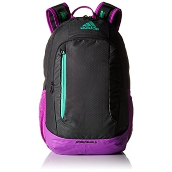 Harga adidas Mission Backpack, Black/Shock Purple/Bright Green, One Size/ship from USA / Flyingcoco - intl