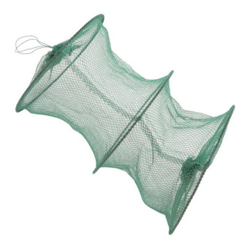 Great Crab fish Crawdad Minnow Fishing Bait Trap Cast Dip Net Cage FM Green-