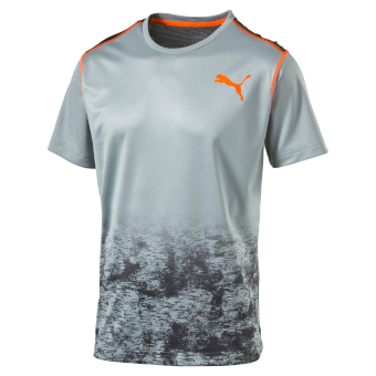 Harga Puma ESSENTIAL TECH TEE Quarry-Asphalt