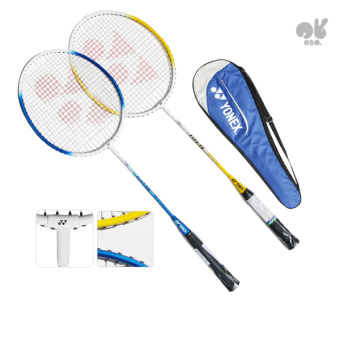 Harga Yonex Badmintion 2 x Alpha rackets, 8 x shuttlecocks Set. - Intl