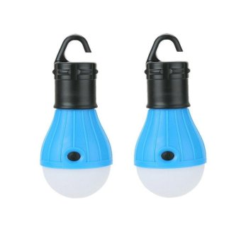 Harga 2 Pack LED Camping Lantern Bulb - SUN RUN Tent Lights, Emergency Night Lamp for Outdoor & Indoor Hiking Fishing,Portable,Battery Powered - intl