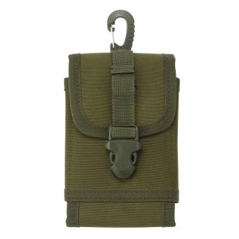 Harga oxoqo 5.5 Inch Outdoor Nylon Utility Phone Belt Clip On Holster Holder Tactical Cell Phone Waist Pack Pouch - intl