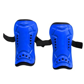 1 Pair Competition Pro Soccer Shin Guard Pads Shinguard Protector Blue - intl