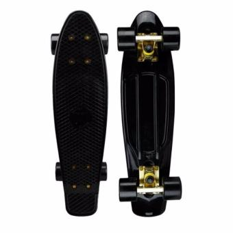 Harga Penny Style Board Skateboard 22 inch (Black Deck with Black Wheels) Scooter / Electric Scooter / Kick Scooter / Skate Scooter / Kids / Children / Adult