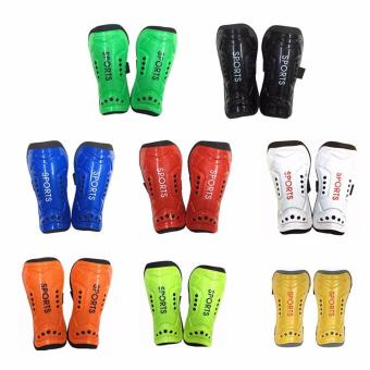 4 PCs 2 pair leg guard children adult light soft soccer football shinguards Hi Take pad shine - intl