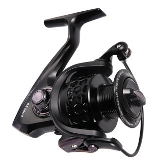 Harga Fishing Reels Ultra Smooth 12+1BB 5.1:1 Gear Ratio CNC Machined Aluminum Spool Powerful Bass Gears Reel for Saltwater and Freshwater 5000 Series - intl