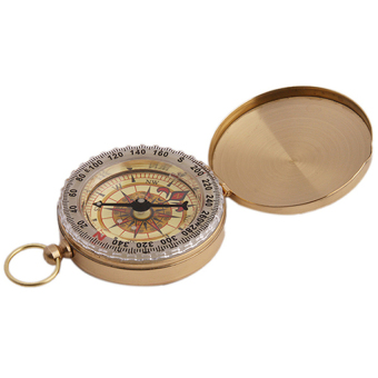 Harga Hang-Qiao Car Compass Professional Waterproof (Gold)