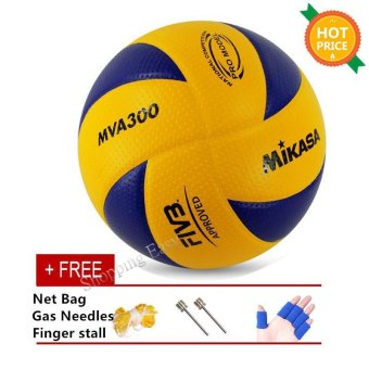 Harga Mikasa MVA 300 Volleyball Soft PU Volley Ball MVA300 - intl