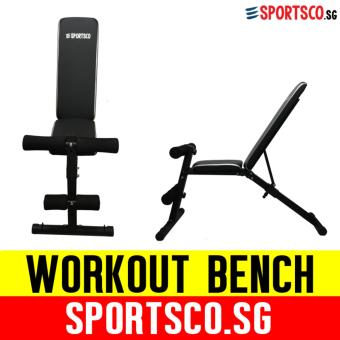 Harga SPORTSCO Adjustable Heavy Duty Workout Bench (Foldable) (SG)