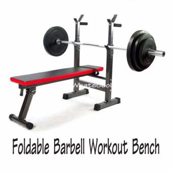 Harga Barbell Workout Bench (Foldable)