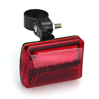 Bicycle Bike MTB Cycling flash Rear Tail 5 LED Safety Lights Lamp 7 Modes (Intl)