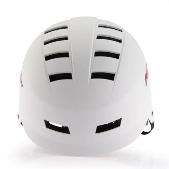 Harga Generic Bicycle Unisex Skateboard Helmet for Outdoor Riding (White)