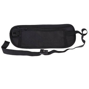 Harga Close-Fitting Security Pocket Money Waist Belt Pouch Bag for Outdoor Sport