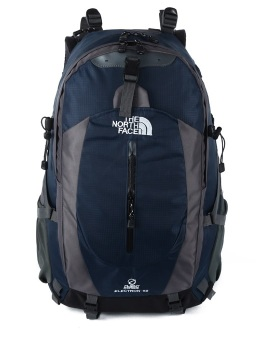 Harga The North Face 50L Hiking Travel Backpack - With Laptop Slot