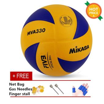 Harga Mikasa MVA 330 Volleyball Soft PU Volley Ball MVA330 - intl