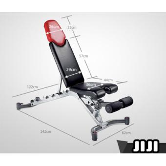 Harga JIJI Bowflex SelectTech Adjustable Bench Series 5.1 inspired/ Bench/ Home Gym/ Bench Press/ Weightlifting (With Assemble)