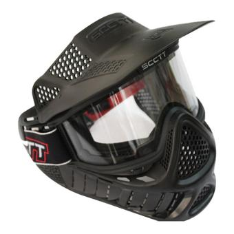 Harga Full Face Airsoft Paintball Goggle Clear Lens SCOTT Mask Version 2 - intl