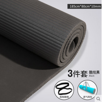 Harga Beginner's professional Yoga mat tasteless Sports Fitness mat yoga mat non-slip even more blanket 10mm