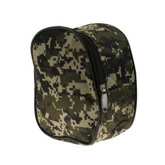 Harga BolehDeals Camouflage Fishing Reel Case Protective Cover Storage Bag - intl
