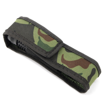 Harga Camouflage C8 18cm Holster Pouch Bag Case Cover for LED Torch Flashlight MS - Intl