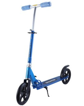 Harga Winning Slim-COOL Foldable Kick Scooter (Blue)