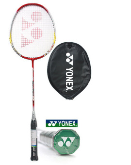Harga Yonex Korean Best-Selling Badminton Racket including a Half Cover Case. Musclepower 5