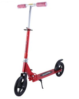 Harga Winning Slim-COOL Foldable Kick Scooter (Red)