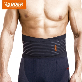 Harga BOER 7992 Fitness Trainer Body Shaper Waist Trimmer Tummy Slimming Belt - intl