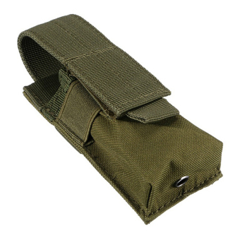 Harga MagiDeal Tactical Military Flashlight Torch Belt Holster Holder Case Pouch Army Green - intl