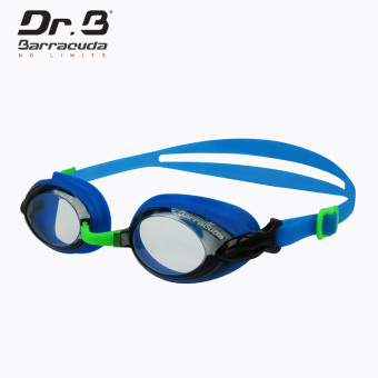 Barracuda Swimming Optical Goggles Dr.B#BARRACUDA RX (Diopter -3.5 for both eyes-Blue) - intl