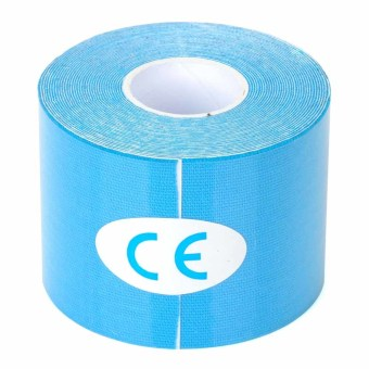Harga ConST NW-1 Cotton Cloth Therapy Muscle Kinesio Tape Blue