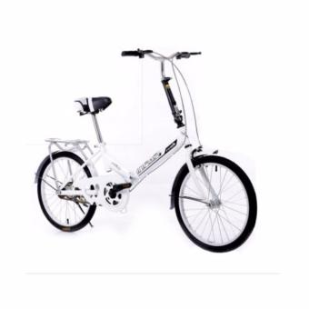 Harga INFAR FOLDABLE BICYCLE (White)(White)