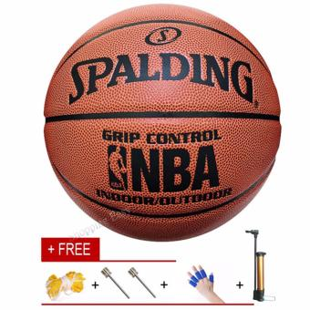Harga PU Basketball Special NBA Games Size7 PU Leather Basket Basketball Ball Training Equipment - intl