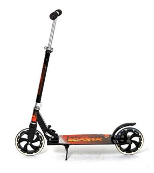 Harga Winning COOL Foldable Kick Scooter (Black-out Edition)